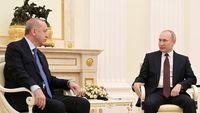 پوتین و اردوغان در خصوص اوضاع افغانستان تبادل نظر کردند