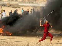 درگیری خونین در نوار غزه +فیلم