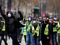 اعتراض جلیقه زردها در سال نو میلادی ادامه مییابد