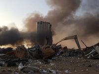 اولین لحظات انفجار مهیب بیروت +فیلم