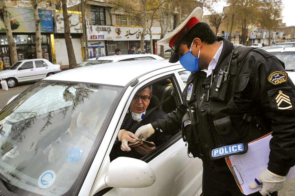 جریمه  ۱۸هزار خودرو بهخاطر محدودیتهای سفر