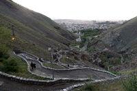 گردآوری تجهیزان لازم برای هدایت آب در تهران