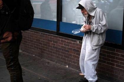 بیخانمانهای آمریکا +تصاویر