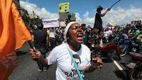 اعتراض با قابلمه و ماهیتابه علیه مادورو