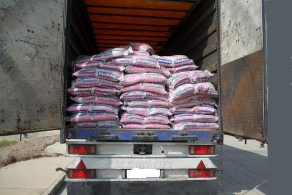 24تُن برنج قاچاق در بندرعباس کشف شد