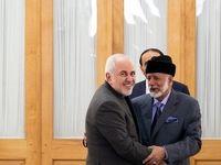 دیدار وزرای خارجه عمان و ایران +عکس