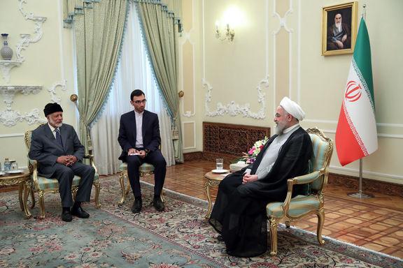 ایران علاقمند به توسعه همکاریها با عمان است/ حضور نیروهای خارجی عامل اصلی تنش در منطقه است