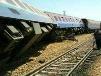 قطار اهواز-مشهد از ریل خارج شد +تکمیلی