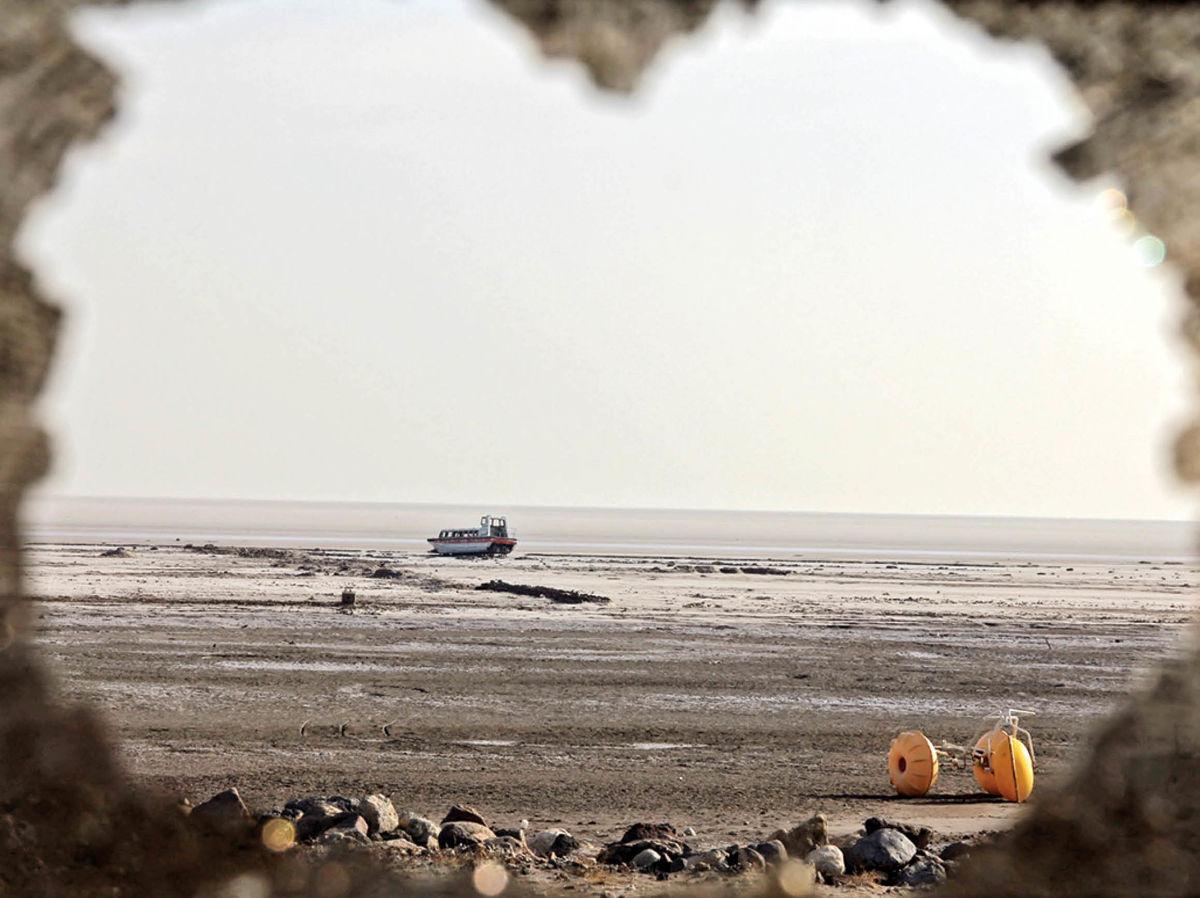 دریاچه ارومیه در بدترین وضعیت نیم قرن اخیر