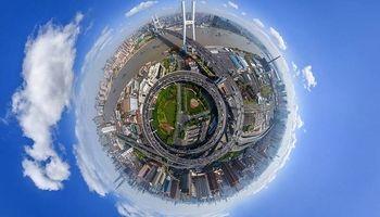 تصویر 360درجه زیبا از شانگهای