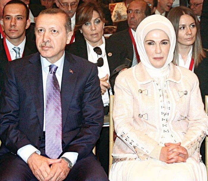 بازیگران نقش اردوغان و همسرش
