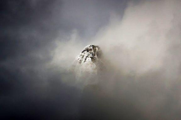 قلهای در حصار ابرها +عکس