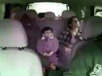 تصادفات بین جادهای از زاویه داخل خودرو +فیلم