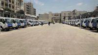 تحویل 30دستگاه کامیونت شیلر با کاربری حمل پسماندهای کرونایی بیمارستانها