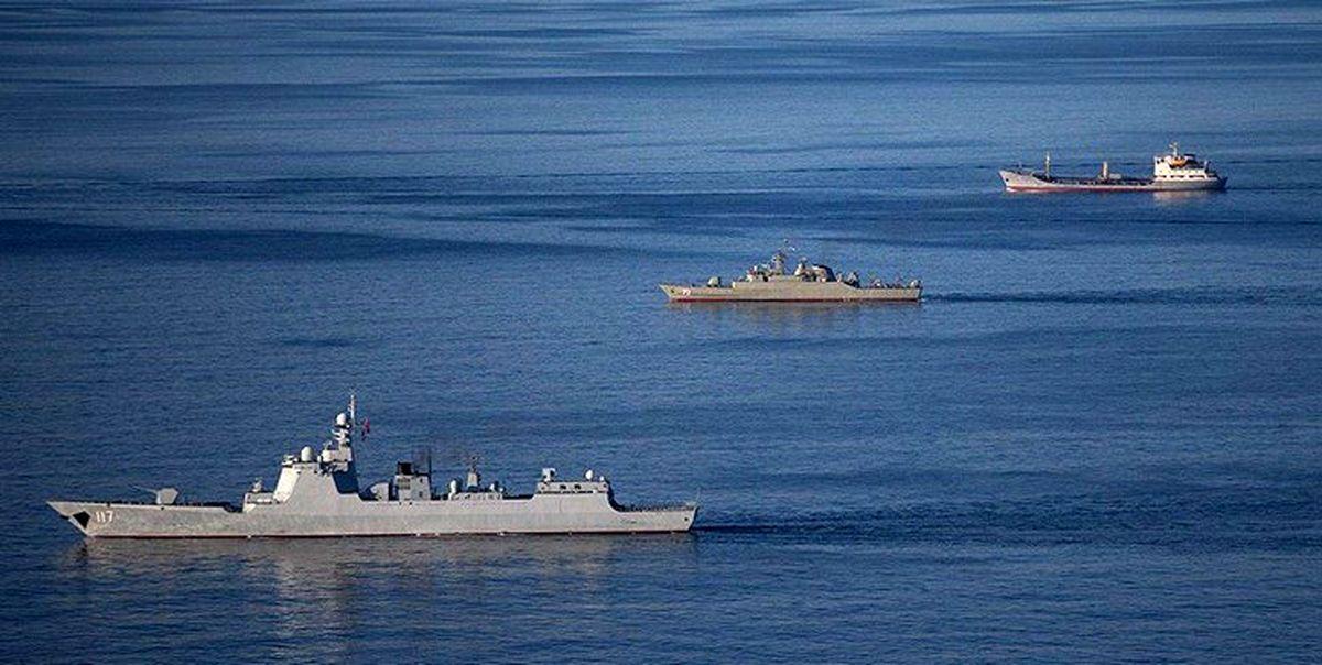 رزمایش مرکب ایران، روسیه و چین پایان یافت