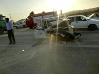 تصادف در فیروزه یک کشته داشت