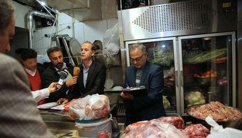 گوشتهای یخی در رستوران سوپر لوکس +تصاویر