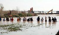 خطر سیلاب در رودخانه کرخه همچنان ادامه دارد