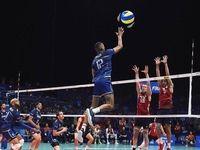 ایرانیها والیبالیست فرانسه را وادار به اصلاح پستش کردند!