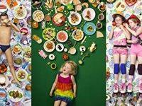 تصاویر دیدنی از آنچه کودکان کشورهای مختلف میخورند!