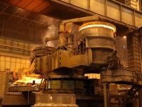 تولید فولاد ایران 4 درصد رشد کرد