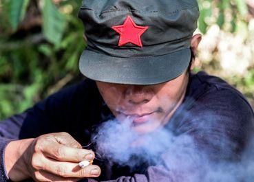 اردوگاه چریکهای کمونیست در فیلیپین