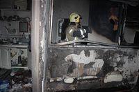 انفجار گاز شهری و آتشسوزی در خیابان آزادی +تصاویر