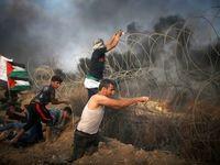 تظاهرات مجدد مردم فلسطین در نوار غزه +تصاویر