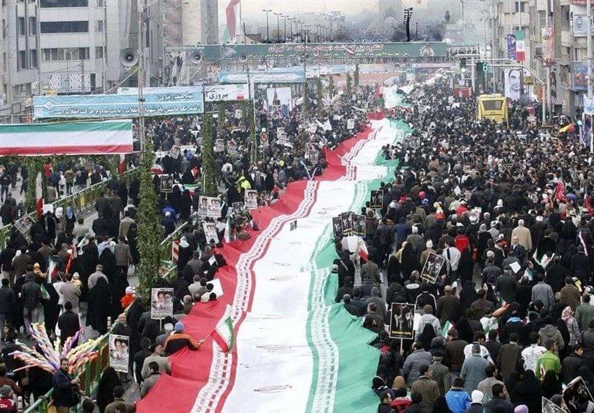 مسیر رژه خودرویی و موتوری آیین ۲۲بهمن تهران اعلام شد