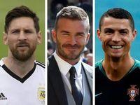 لیونل مسی، دیوید بکهام و کریستیانو رونالدو گرانترین بیمهنامه ورزشی جهان را به نام خود زدند