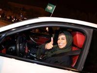 رانندگی زنان در خیابانهای ریاض برای نخستین بار +تصاویر