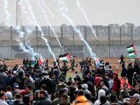 درگیری نظامیان اسرائیل با مردم فلسطین +فیلم
