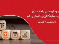 پذیرهنویسی صندوق سرمایه گذاری قابل معامله پالایشی یکم در بانک پارسیان