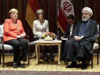 دیدار روحانی با صدر اعظم آلمان +تصاویر