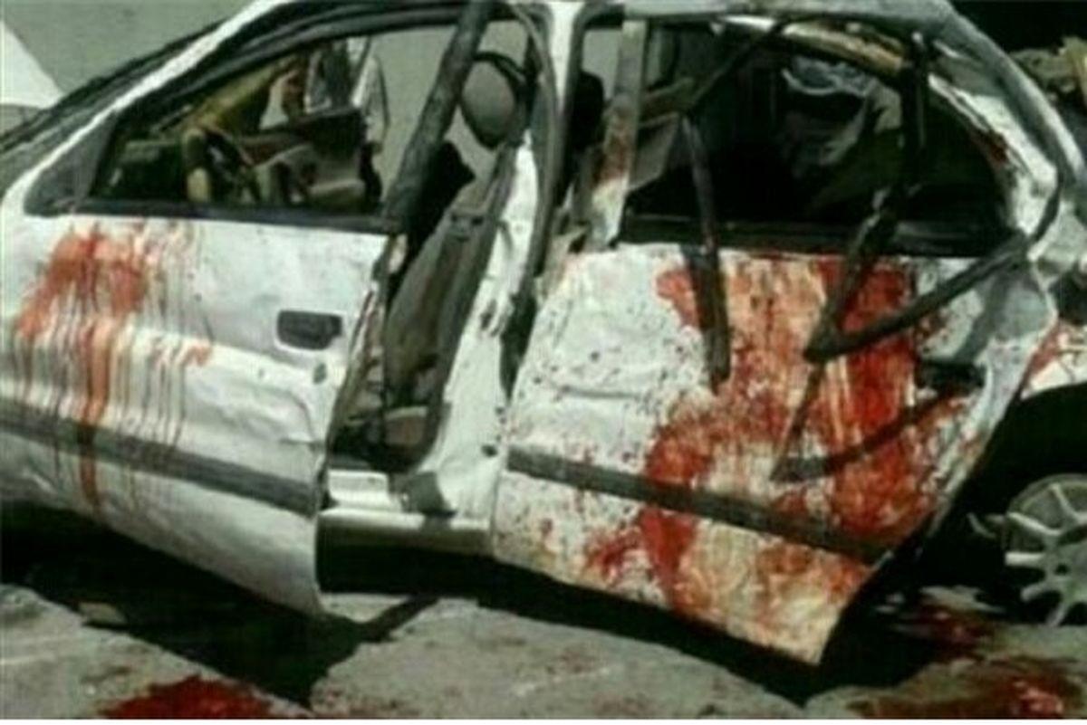تصادف شدید در محور اهر ۳کشته و زخمی درپی داشت