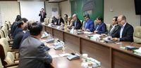 دیدار رئیس اتاق بازرگانی چین با عضو هیات مدیره بانک کشاورزی +عکس