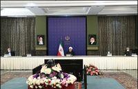 روحانی: آمریکاییها مصوبات بهداشت جهانی را نقض میکنند +فیلم
