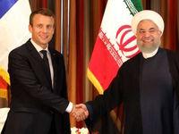 ماکرون سالگرد پیروزی انقلاب اسلامی را به روحانی تبریک گفت