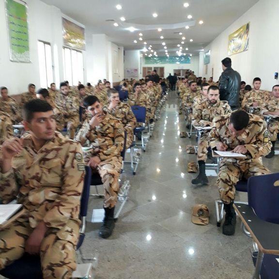 ۴۰هزار نفر در آزمون اشتغال پذیری سربازان شرکت کردند