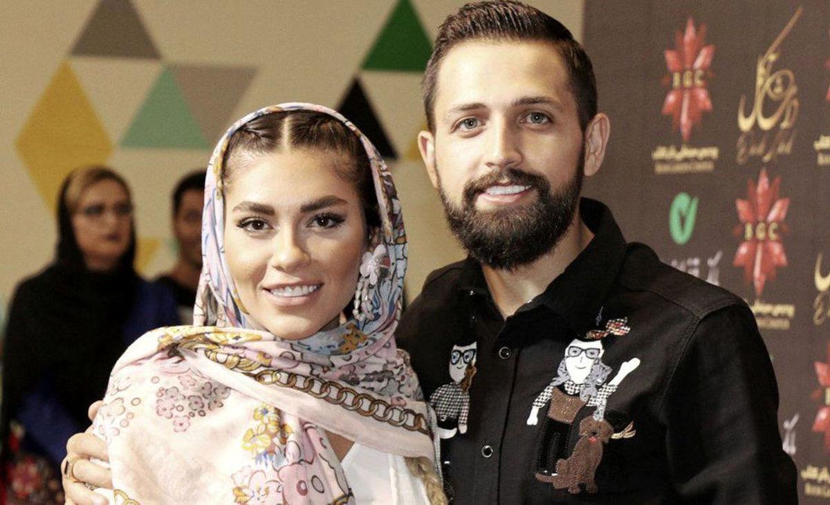 محسن افشانی و همسرش در دادگاه +عکس