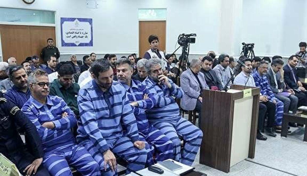نهمین جلسه رسیدگی به اتهامات متهمان شرکت پدیده