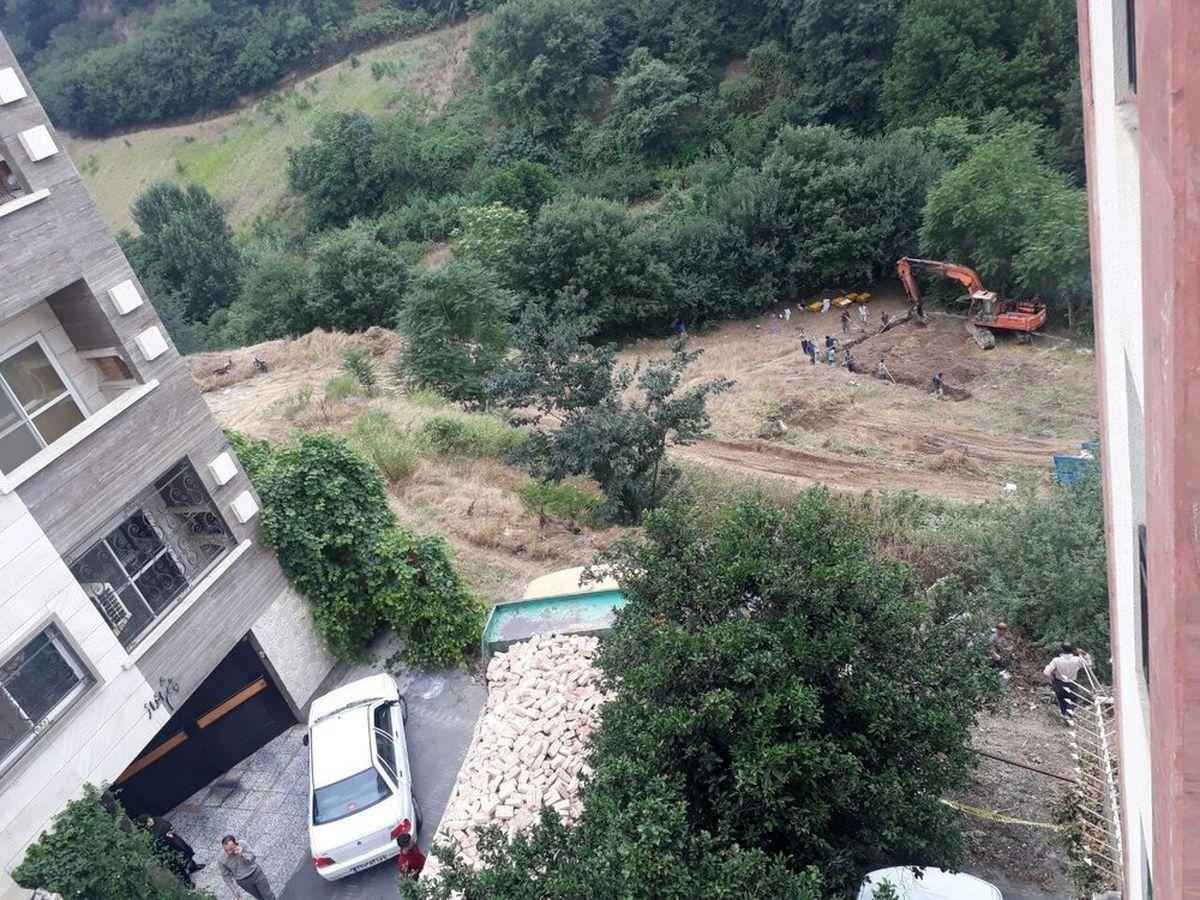 تاخت و تاز زمین خواران و کوه خواران در شمال تهران