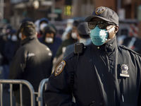 ۷۳۰ افسر پلیس نیویورک به کرونا مبتلا شدند