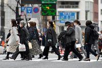 دستمزدها در ژاپن برای پنجمین ماه متوالی سقوط کرد