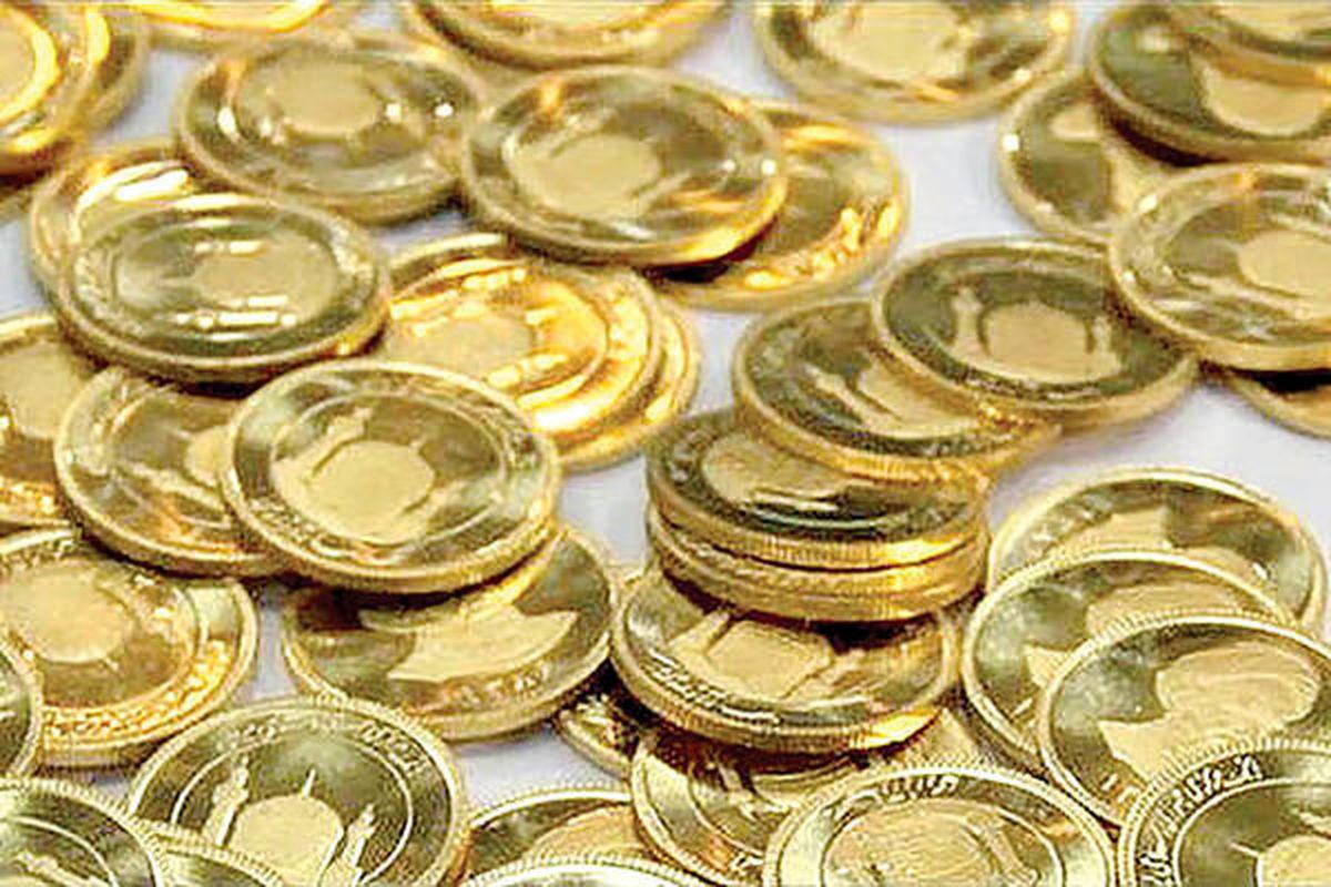 سقوط قیمت سکه در بازار