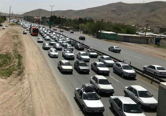افزایش ۳درصدی تردد بین شهری در شبانه روز گذشته