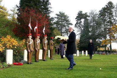 برگزاری مراسم آغاز جنگ جهانی اول در جهان