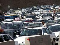 ترافیک نیمهسنگین در تمامی جادههای شمالی کشور