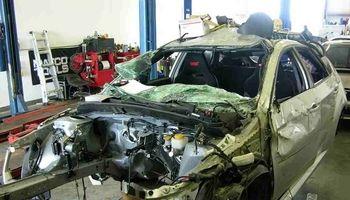 تصادف شدید سانتافه با تیبا! +فیلم
