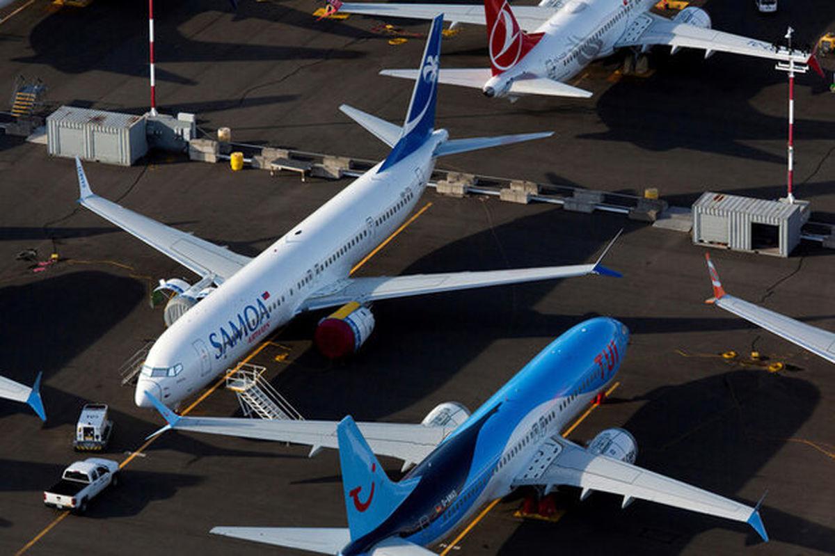 بوئینگ ۷۳۷ مکس مجوز پرواز گرفت